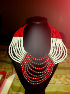 African bead jewelry