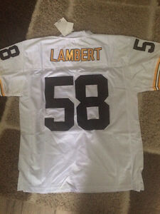 NFL throwback jersey Pittsburgh Steelers lambert