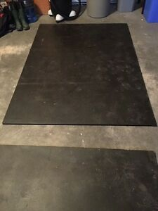 2 Home Gym Flooring Mats or Horse Stall Mats
