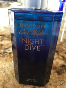 NEW Davidoff COOL WATER Night Dive 125 ml Eau de Toilette Men