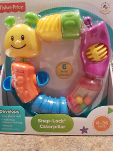Snap lock caterpillar *NEW *