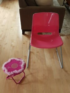 Ikea Pink Chair (Child)