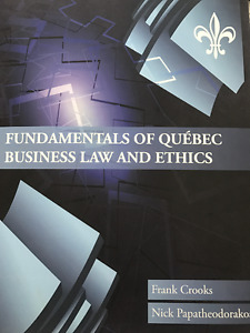 Business Law and Ethics Textbook