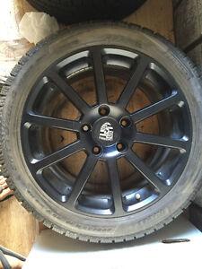 Porsche 911 4s Winter Tires set Pirelli 235/40r18 295/35r18