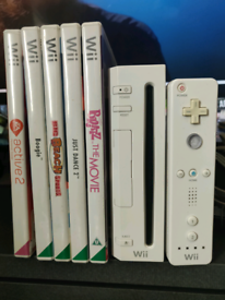 Nintendo Wii + 5 games Open to offers