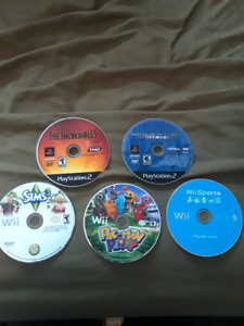 Wii and PC games