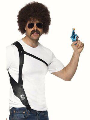 Shoulder Gun Holster WPC Fancy Dress Costume Police - Fancy Dress Gun Holster