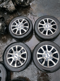 Ford focus mk1 mondeo mk1 fiesta alloy wheels rim with tyre 195 60 15