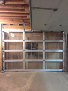 garage door with hardware / Size: 12'X8'