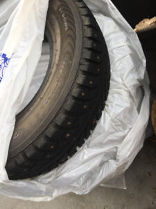 Selling 205/75R15 winter studded tires!