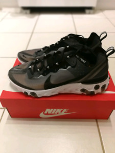 Nike React Element 87 Anthracite, Size 10