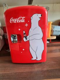 Portable mini fridge - coca cola