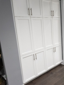 Brand new white pantry cabinet