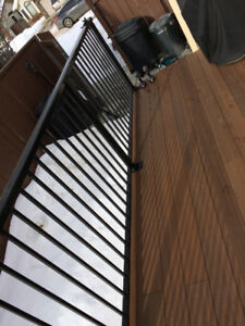 Quality WELDED aluminum railing supply and install. We can insta