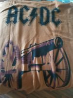 ACDC rock n roll flannel blanket for those about to rock