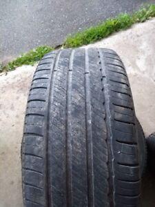 235/45R18 two Michelin all season tires