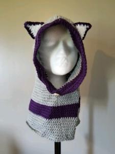 Hood with ears