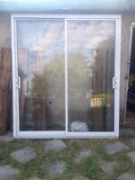 2 x Portes de patio /doors