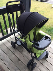 joovy sit n stand double stroller