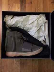 YEEZY 750 BOOST CHOCOLATE SIZE 8.5 DS BNIB FROM ADIDAS.CA