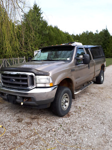 Ford F250 super duty diesel 2002