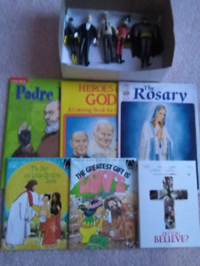 Brand new toys collection and brand new books