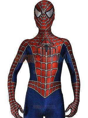 Spiderman Sam Raimi Kostüm (Sam Raimi's Spiderman Outfit - Superhero Costume - Halloween Spandex suit)