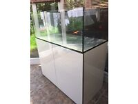 Brand new Aqua Evolution 1200s 4ft marine /tropical fish tank with setup (delivery/Installation)