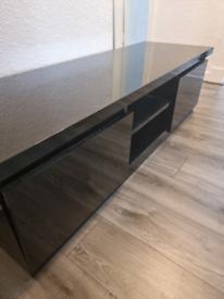 Black High gloss TV unit