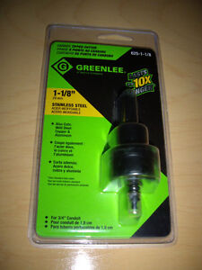 """GREENLEE 1 1/8"""" CARBIDE TIPPED CUTTER London Ontario image 1"""