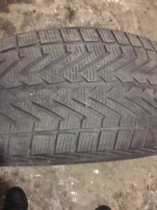 4 winter tires 275/45R19