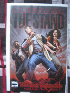"""STEPHEN KING """"THE STAND""""  COMIC BOOK LOT"""