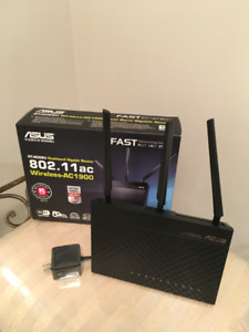 ASUS  wireless router AC1900
