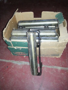 """2""""x12"""" Steel bench rollers"""