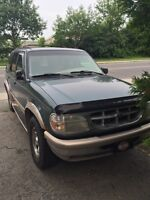 1997 Ford Eddie Bauer Explorer.    For sale