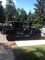 2007 Jeep Wrangler unlimited JK SUV, Crossover