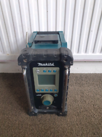 Makita, cordless radio, without battery and charger,18v
