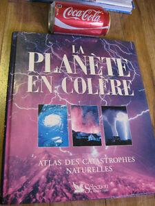 livre atlas des catastrophe naturelles la planete en colere