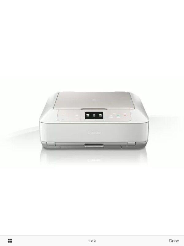 Canon pixmar inkjet MG7750 printer/scanner/copier