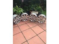 """Alloy wheels 18.5"""""""