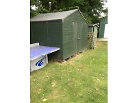Free Shed. 10'x10' Billy-Oh Greenkeeper