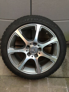 Mercedes wheels 17 inch buy or sell used or new car for Mercedes benz winter tires