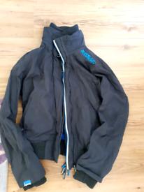 Superdry mens large bomber jacket