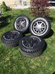 31 inch tires on rims for sale