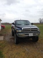 2001 Dodge Ram... Lifted mud truck!