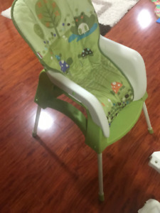 Infant Seat turn to high chair and toddler seat from Fisher pric