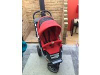Red Teutonia buggy & accessories