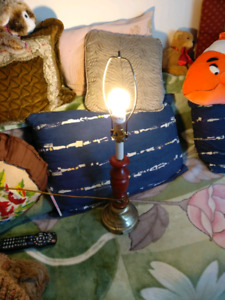 Nightstand lamp, without shade