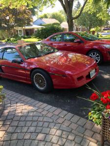 1988 Pontiac Fiero Ottawa  V6 GT