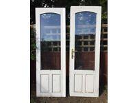 Wooden glazed doors
